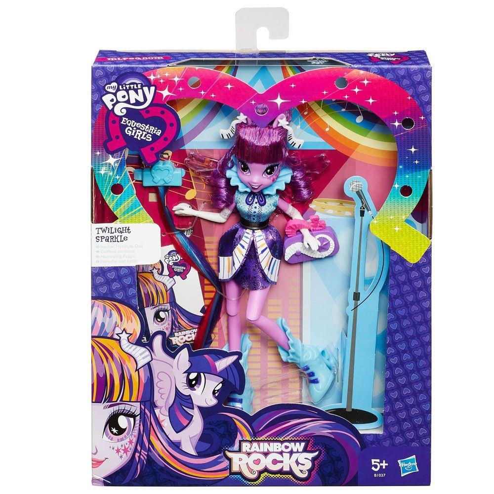 Boneca My Little Pony Equestria Girls Cabelos Estilosos B1036  Hasbro
