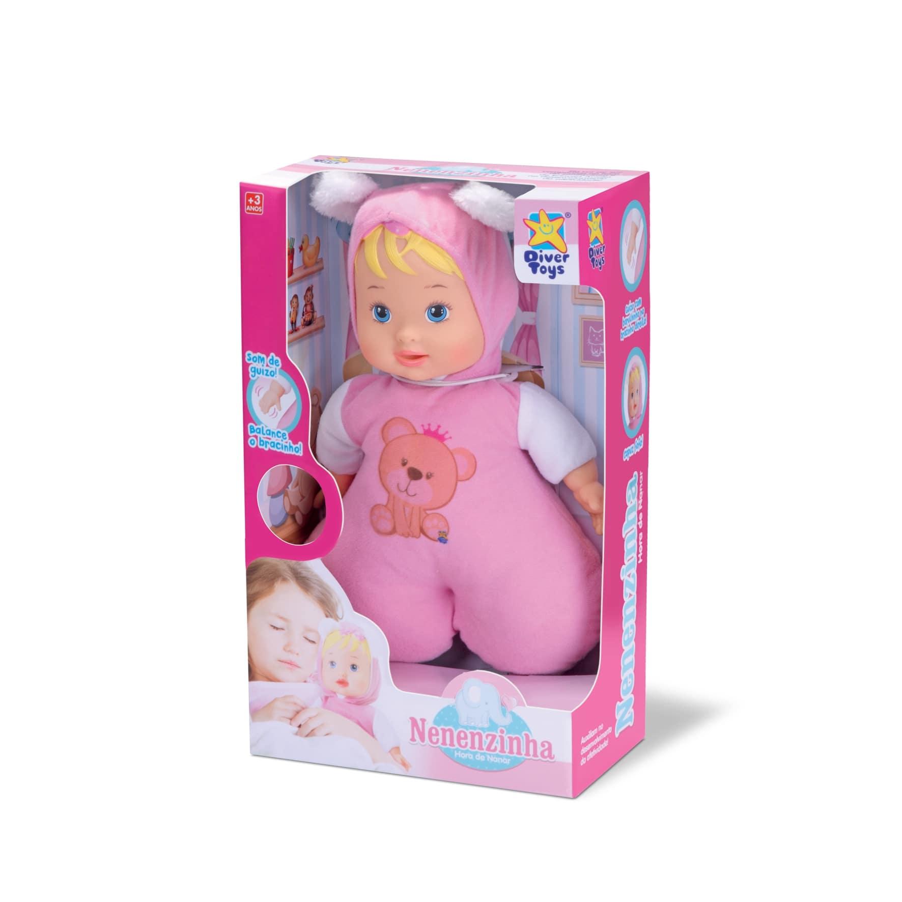 Boneca Nenenzinha Hora De Nanar 8007 Diver Toys