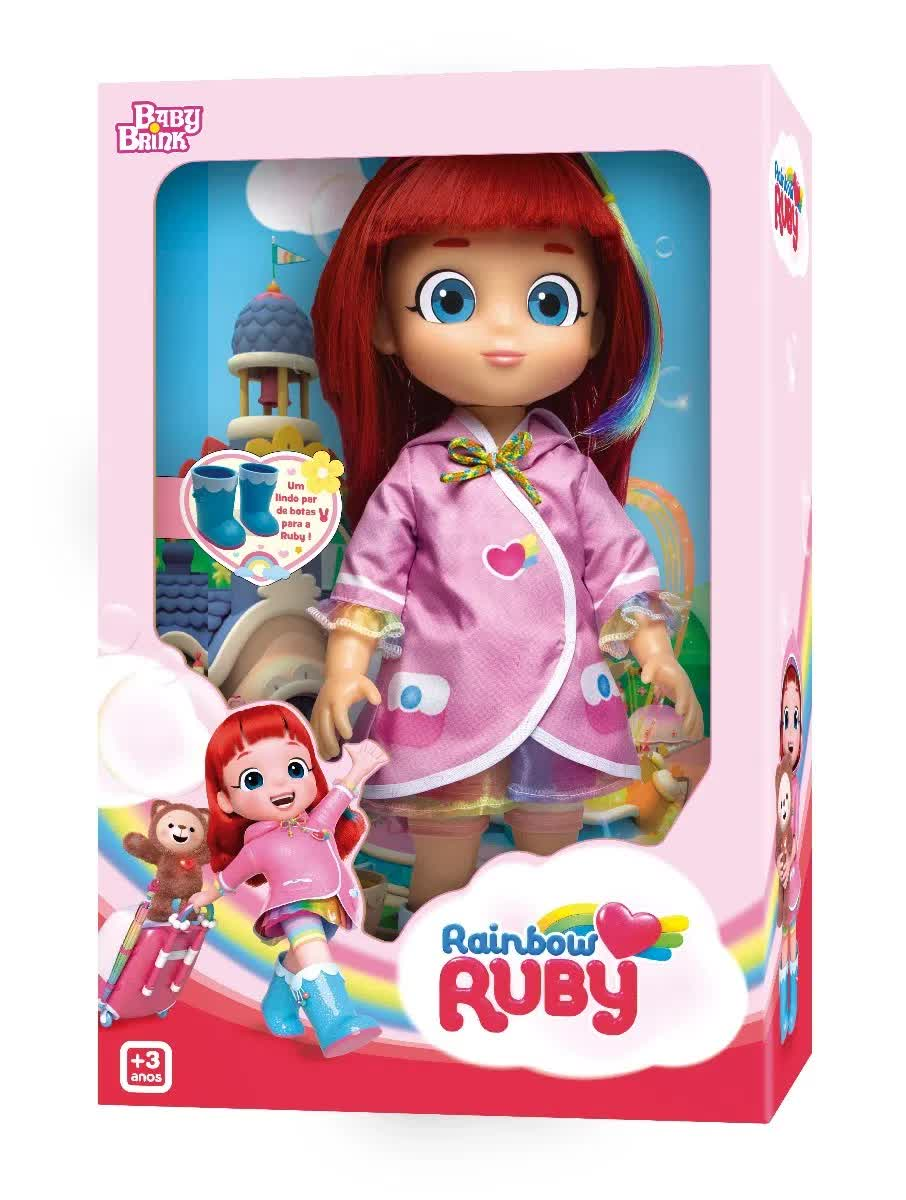Boneca Rainbow Ruby 1842 Baby Brink