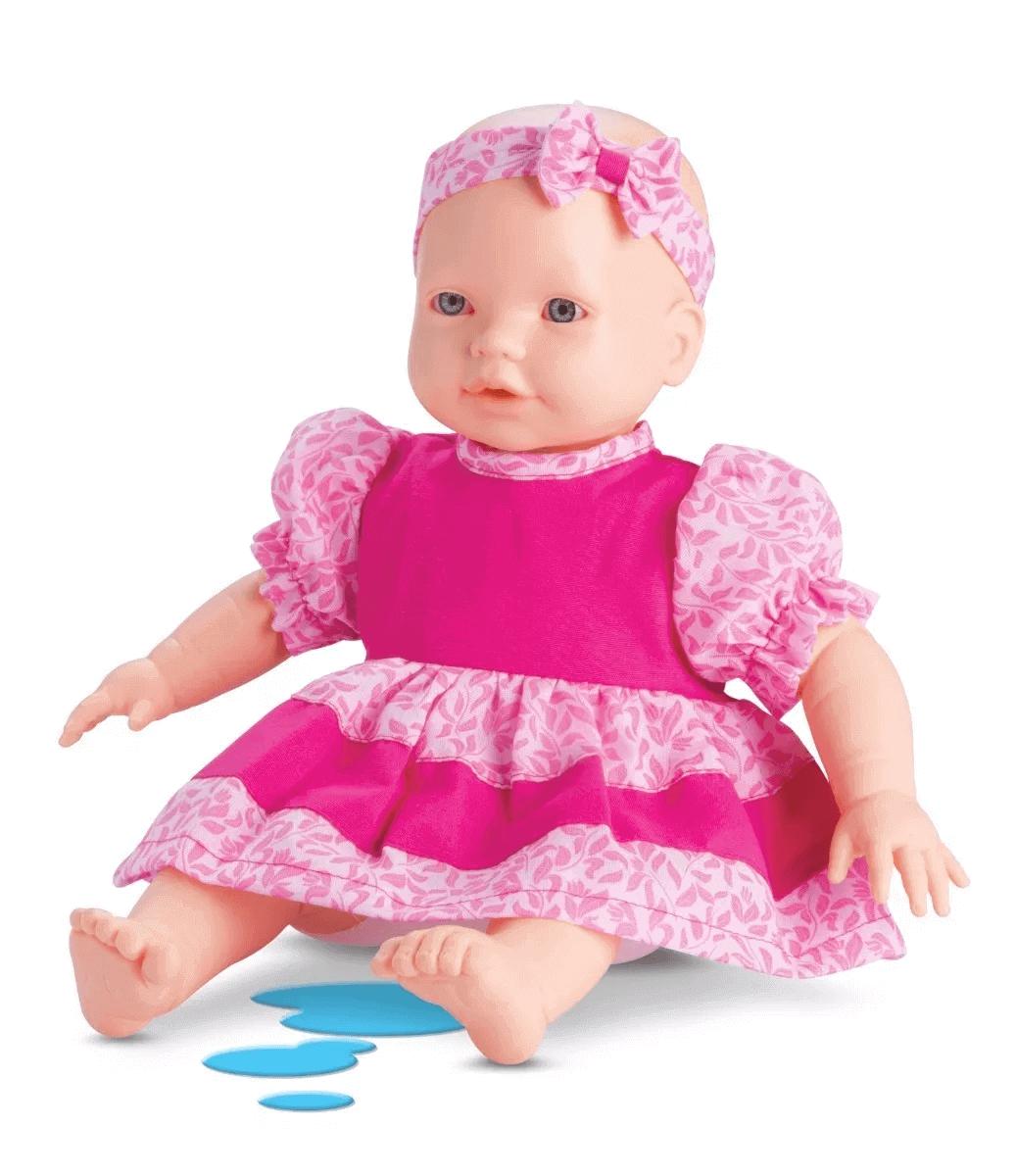 Boneca Vinil Mini Bebe Xixi 4995 Omg