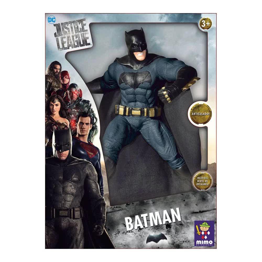 Boneco Batman Articulado Liga Da Justiça Gigante 921 Mimo