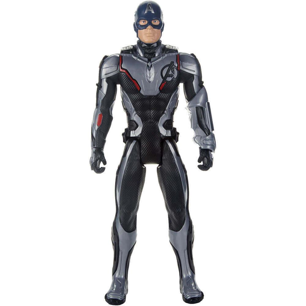 Boneco Eletrônico Capitao America Titan Hero E3301 Hasbro