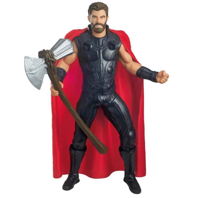 Boneco Gigante Thor End Game Articulado 0567 Mimo