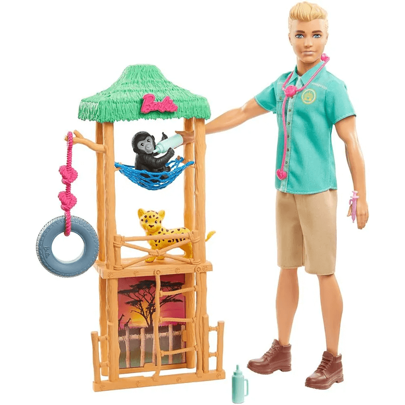 Boneco Ken I Can Be Playset Ken Barbie Gjm32 Mattel