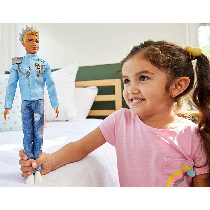 Boneco Ken Principe Aventura De Princesas GML67 Mattel