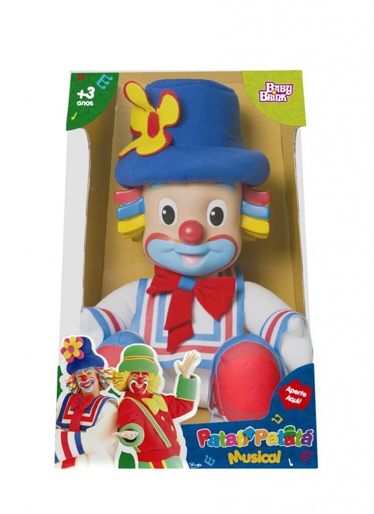 Boneco Patati Musical Baby Brink