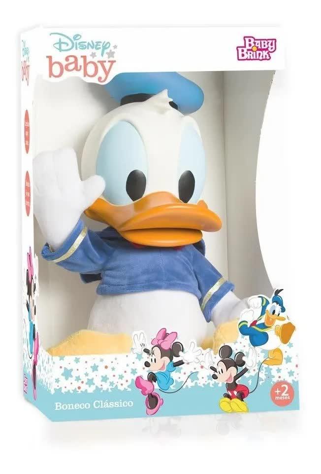 Boneco Pato Donald  Disney Baby 1972 Baby Brink