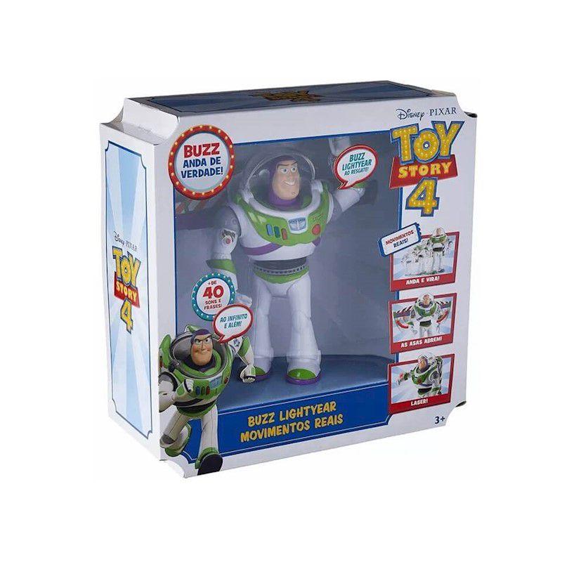 Boneco Toy Story 4 Buzz Movimentos Reais GLR51 Mattel