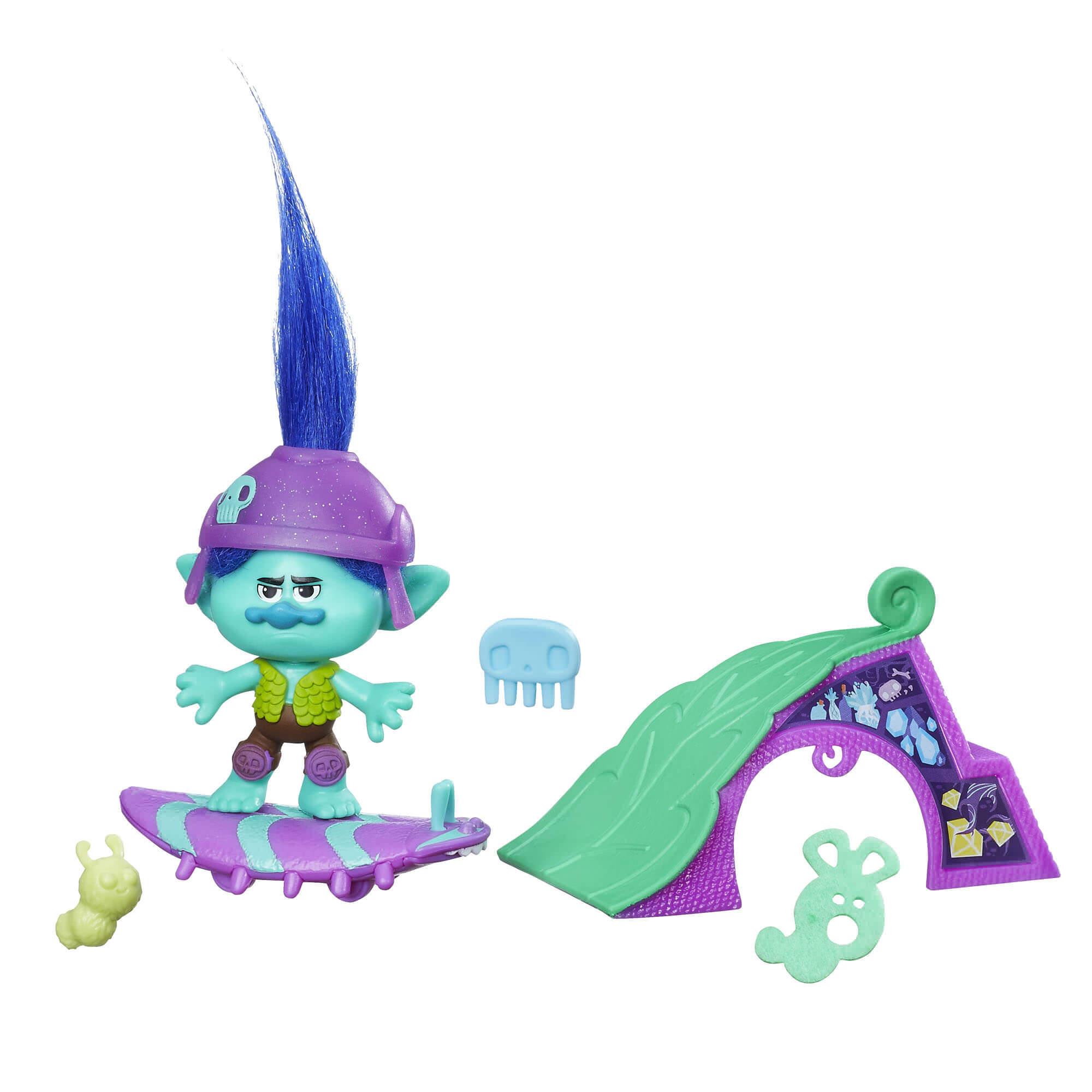 Boneco Trolls Tronco E Seu Skate B6556 Hasbro