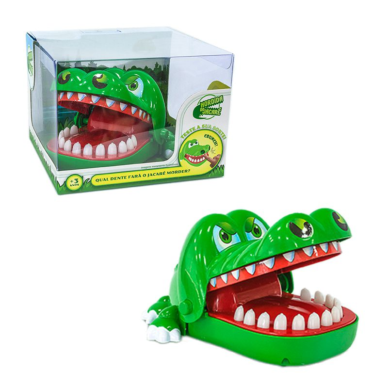Brinquedo Mordida Do Jacare Unik
