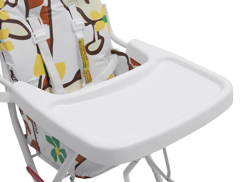 Cadeira Alimentacao Alta Standard II Girafas Galzerano