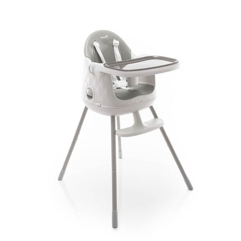 Cadeira De Alimentação Jelly Até 15 Kg Cinza Safety