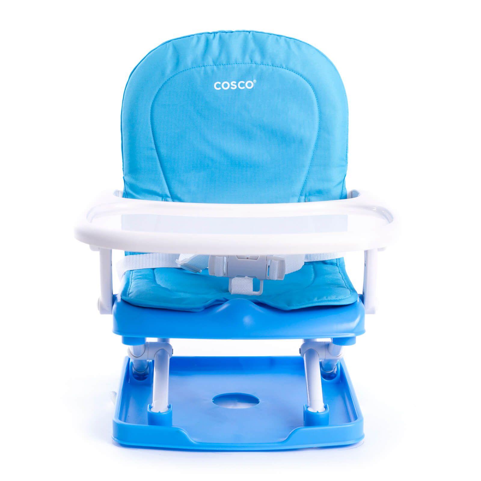 Cadeira de Alimentação Pop Azul Cosco