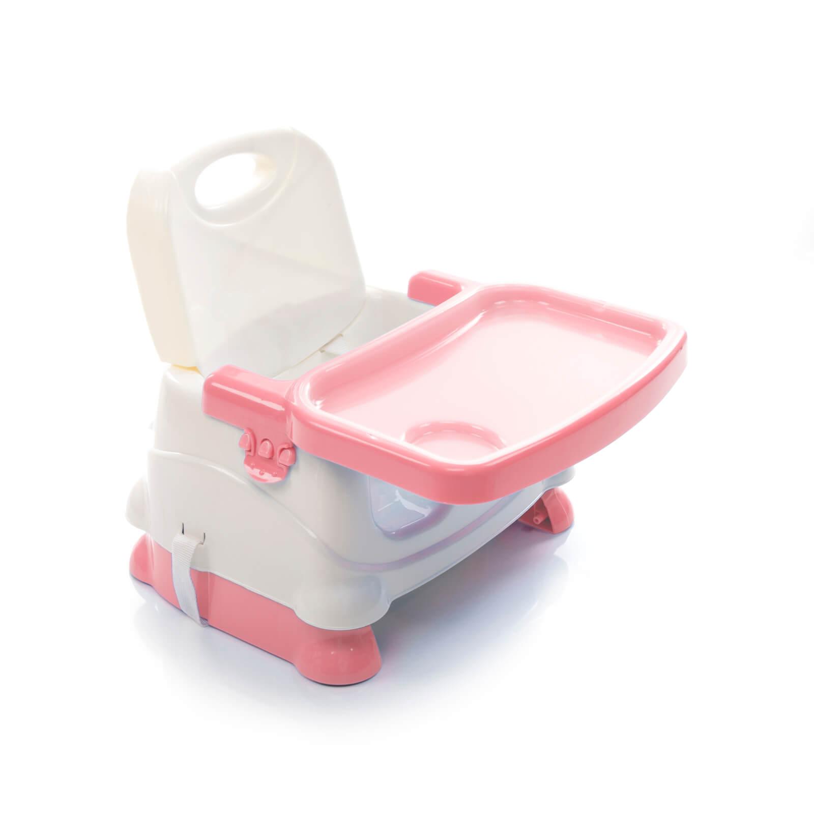 Cadeira de Alimentação Portátil Fun Rosa Voyage