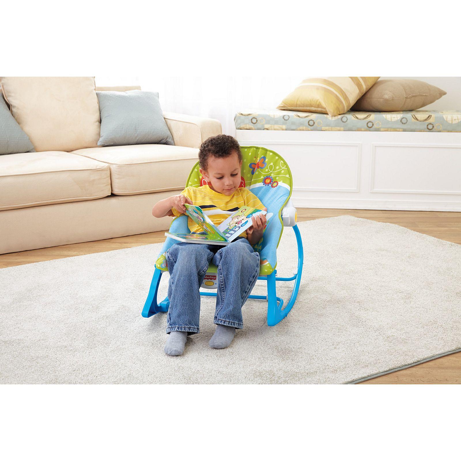 Cadeira De Balanço Minha Infância Sapinho BGB00 Fisher Price