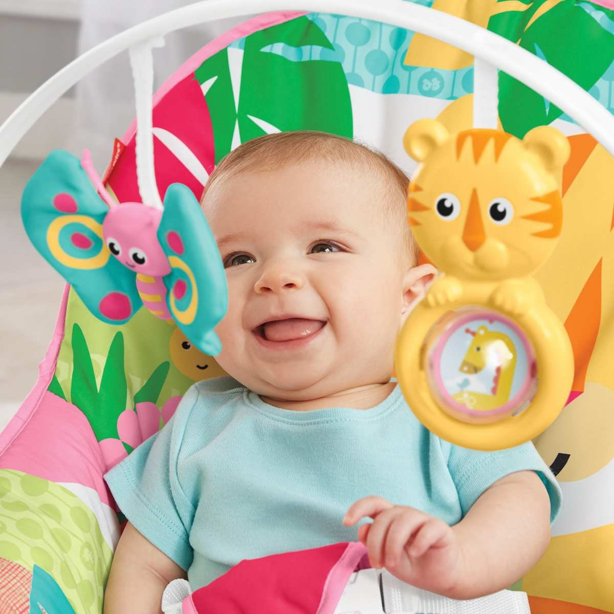 Cadeira De Balanço Minha Infância Tigre GDP95 Fisher Price