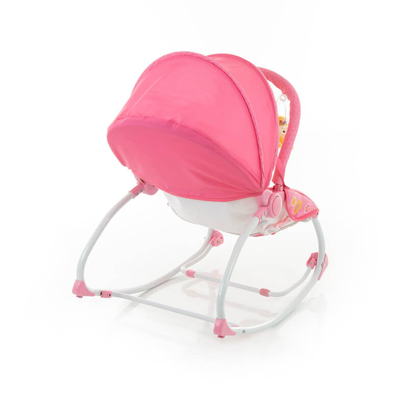 Cadeira de Descanso Bouncer Sunshine Baby Pink Safety