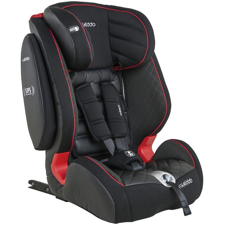 Cadeira Para Auto De 9 Kg A 36 Kg Adapt Preta Kiddo