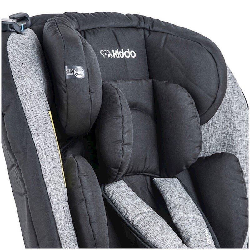 Cadeira Para Auto Grow  Até  36 Kg Preto E Cinza Kiddo