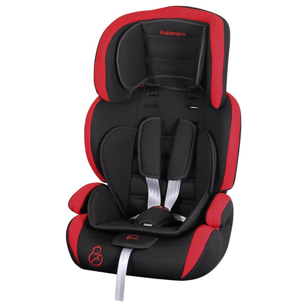 Cadeira Para Auto Jig Até 36 Kg  Preto E Vermelho Galzerano