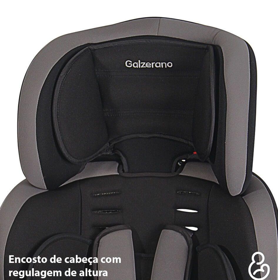 Cadeira Para Auto Jig Até 36kg Preto E Cinza Galzerano