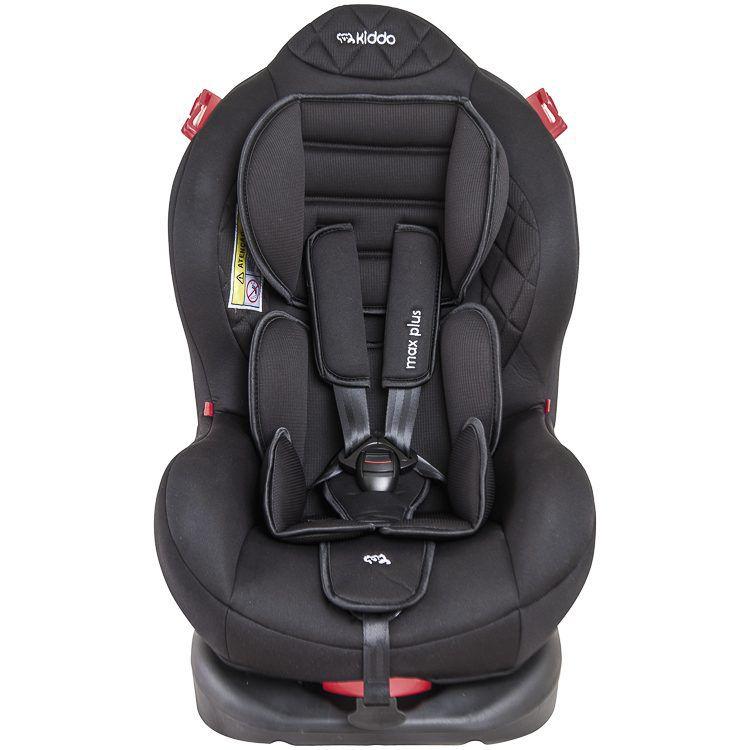 Cadeira Para Auto Max Plus Reclinável Até 25 Kg Preto Kiddo