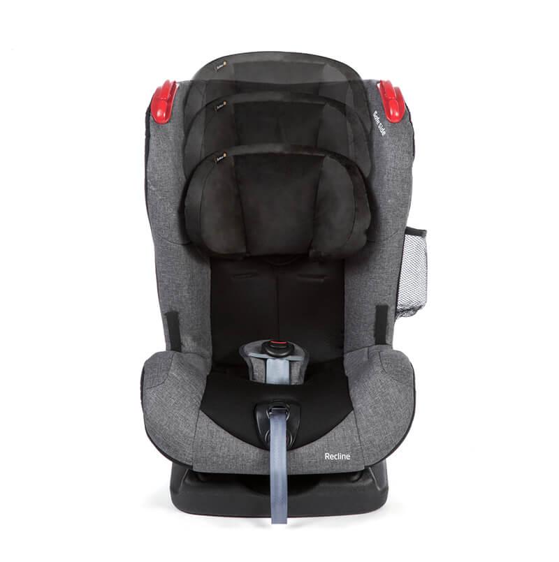 Cadeira Para Auto Recline Até 25 Kg Cinza Safety