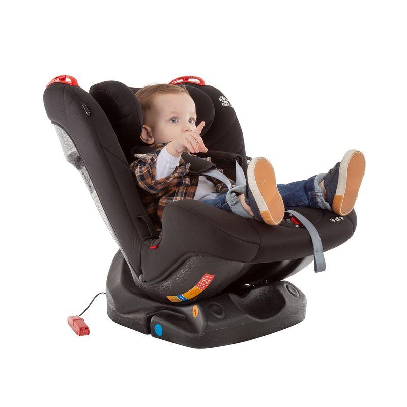 Cadeira Para Auto Recline Até 25 Kg Full Black Safety