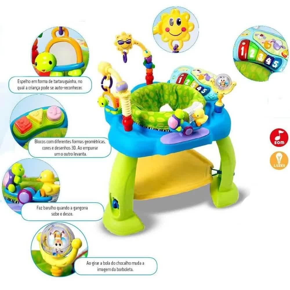 Cadeirinha Multi Atividades Zp00067 Zoop Toys