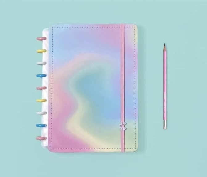 Caderno Candy Splash Médio Caderno Inteligente