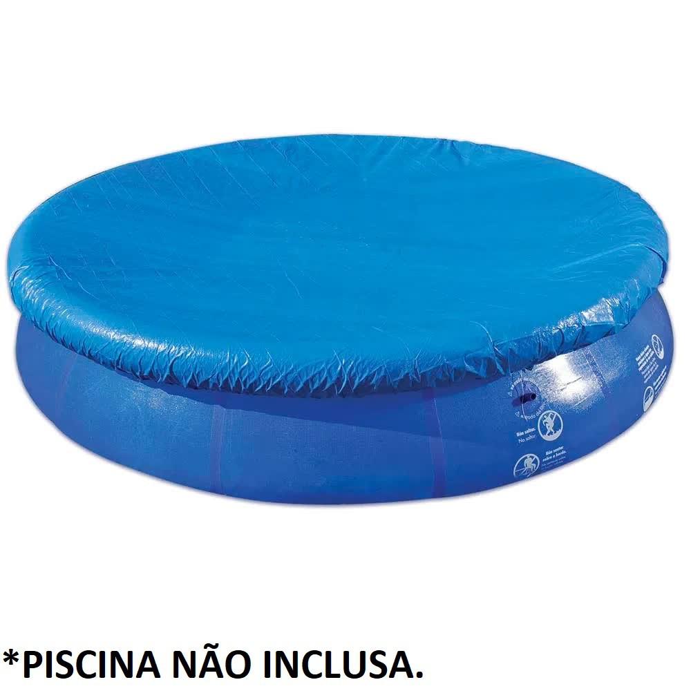 Capa Para Piscina Inflável 6700 E 7800 Litros 1417 Mor