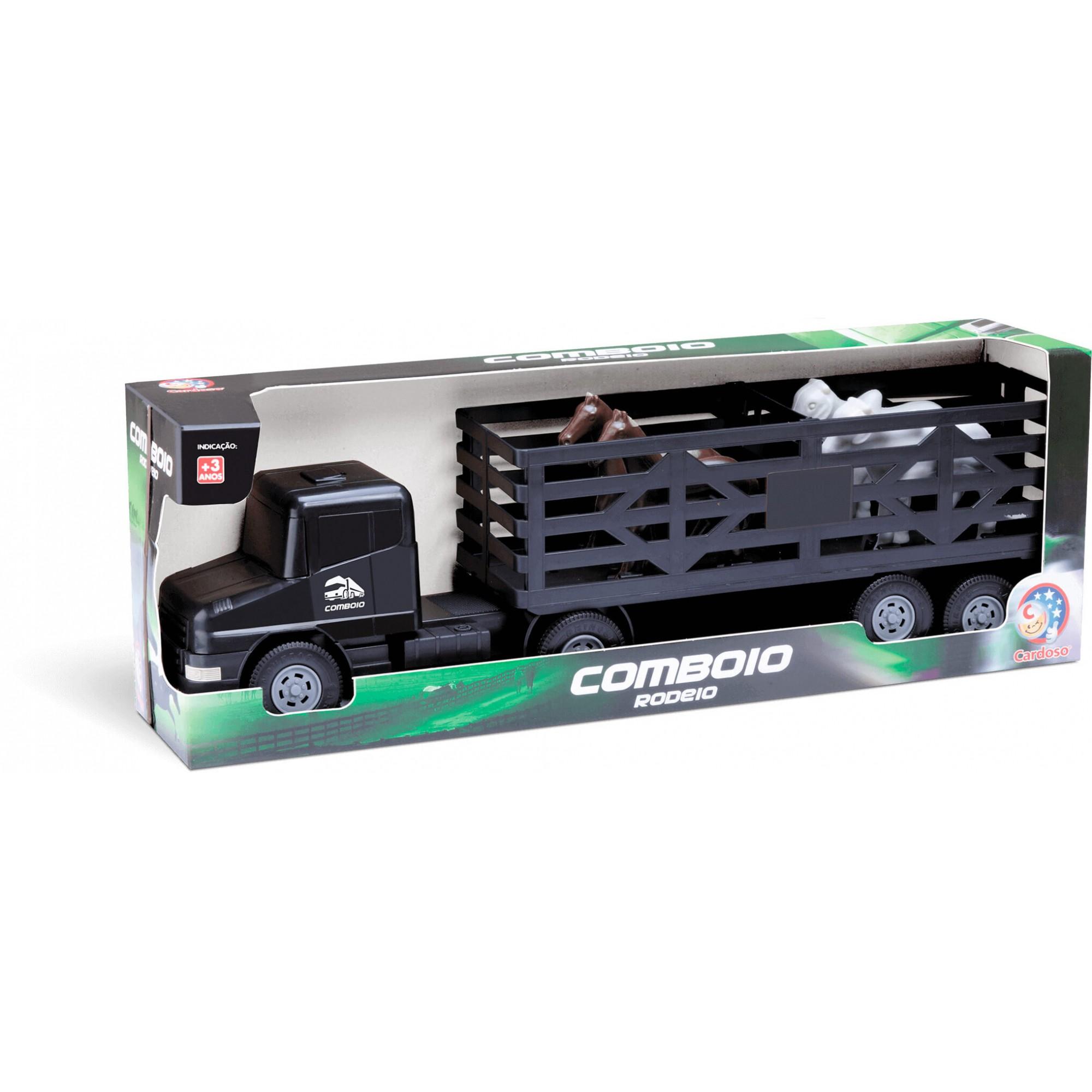Carreta Comboio Rodeio Com Animal 9047 Cardoso