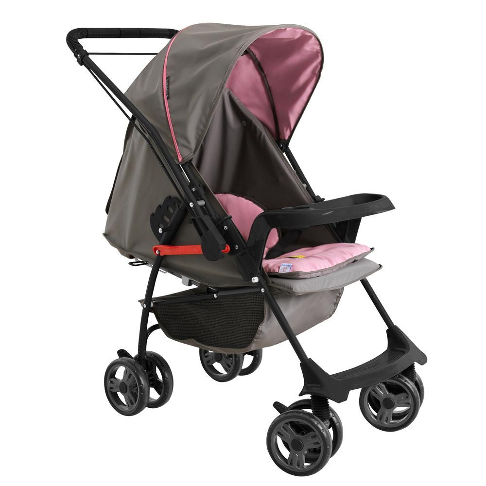 Carrinho Bebê Berço e Passeio Milano Reversível II Galzerano