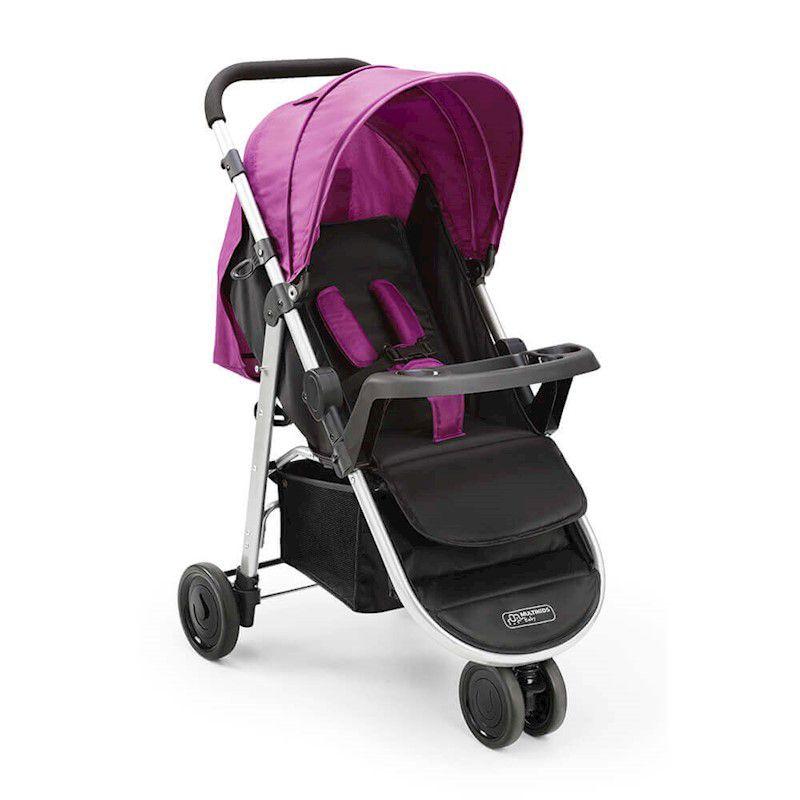 Carrinho De Bebê Agile  Bordo Bb528 Multikids Baby