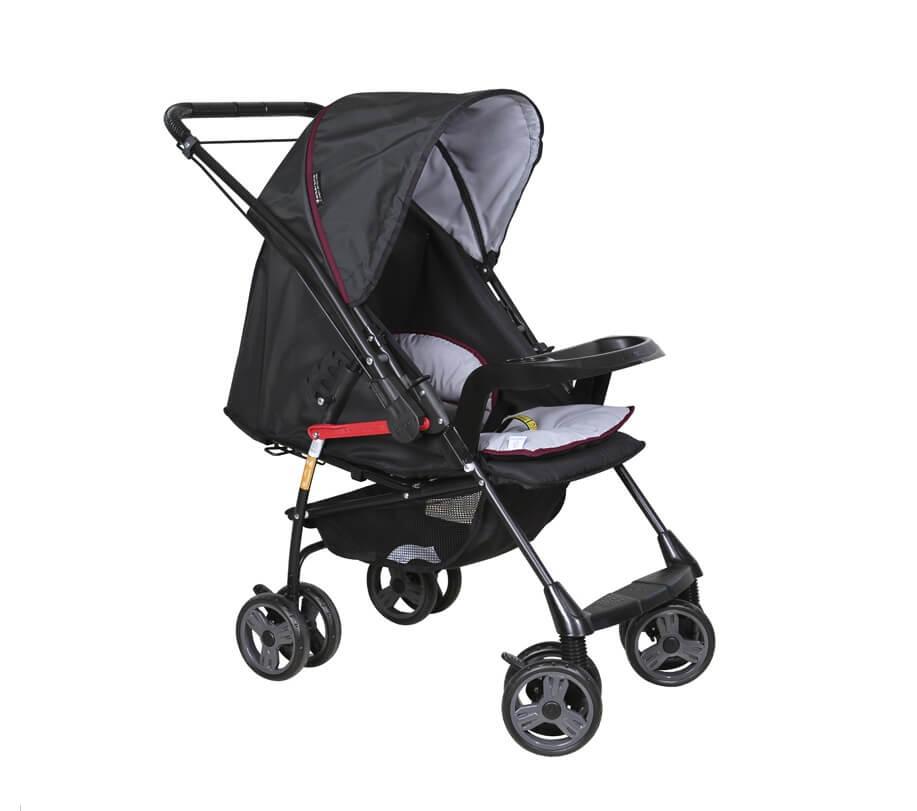 Carrinho De Bebê Berço E Passeio Milano Reversível II Galzerano