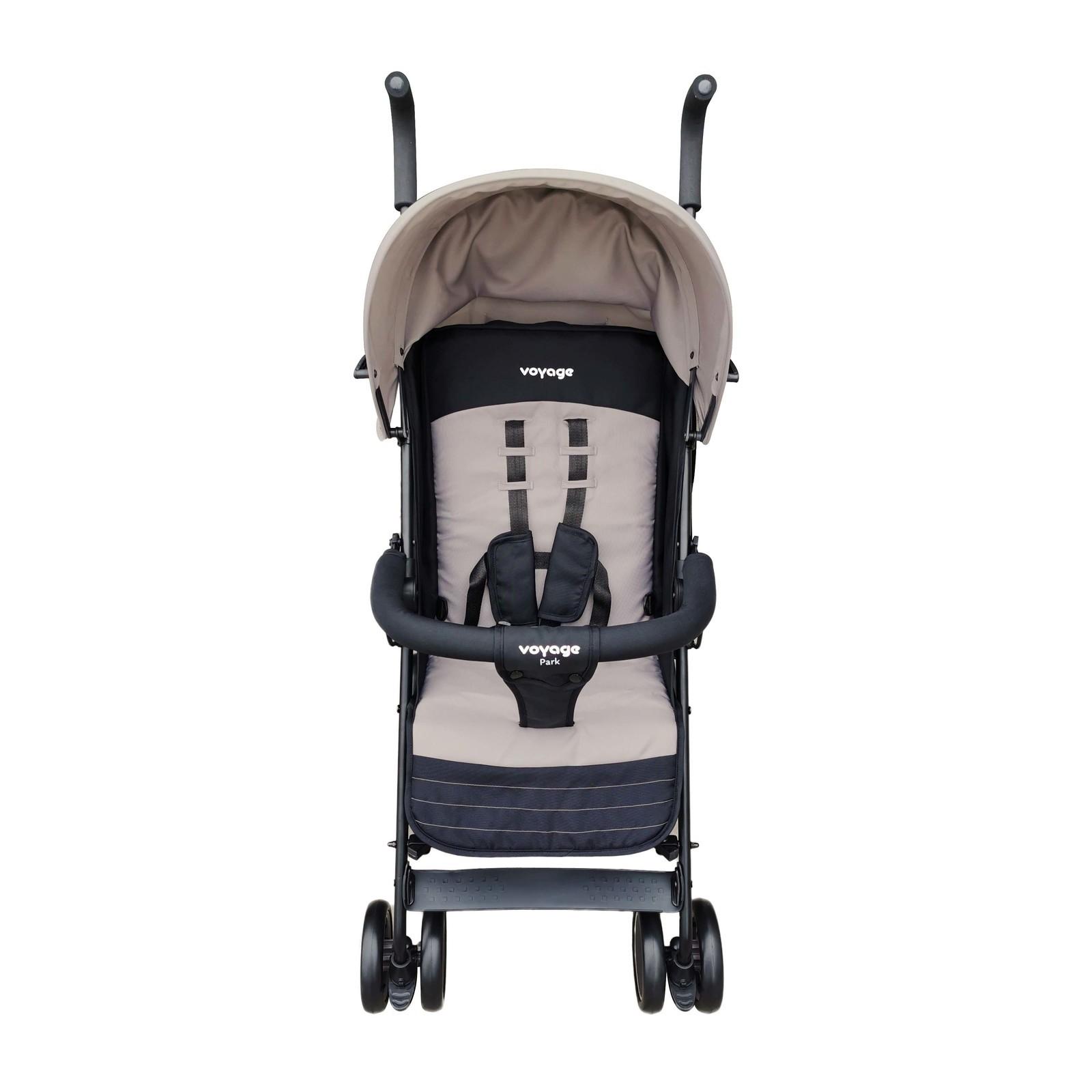 Carrinho De Bebê Berço E Passeio Park Bege Voyage