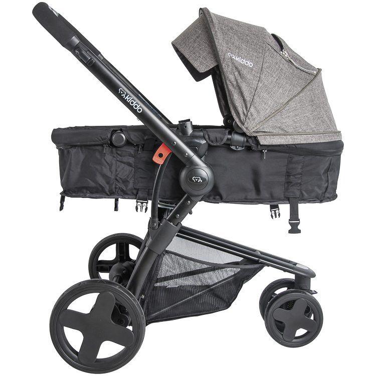 Carrinho De Bebê Berço Passeio E Moisés Compass III Kiddo