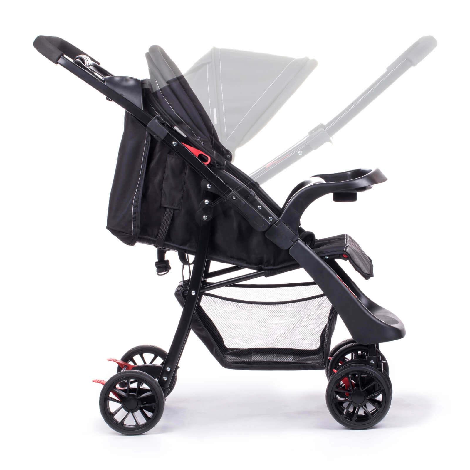 Carrinho De Bebê Passeio Shift Onyx Infanti