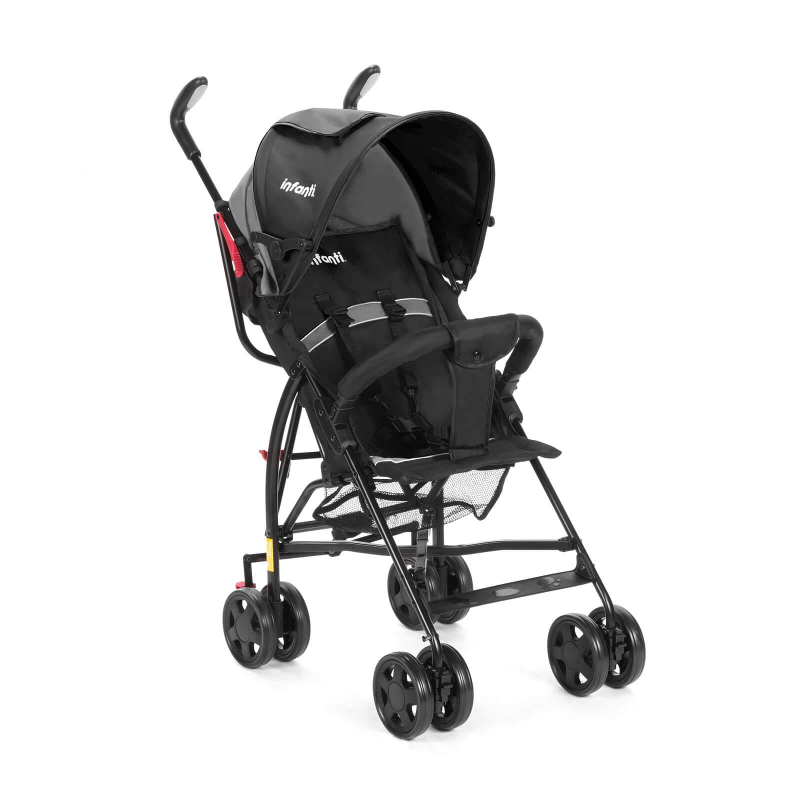 Carrinho De Bebê Umbrella Spin Neo Preto Infanti