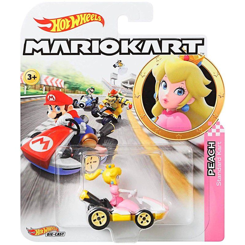 Carrinho Hot Wheels Mario Bros Kart Carros GBG25 Mattel