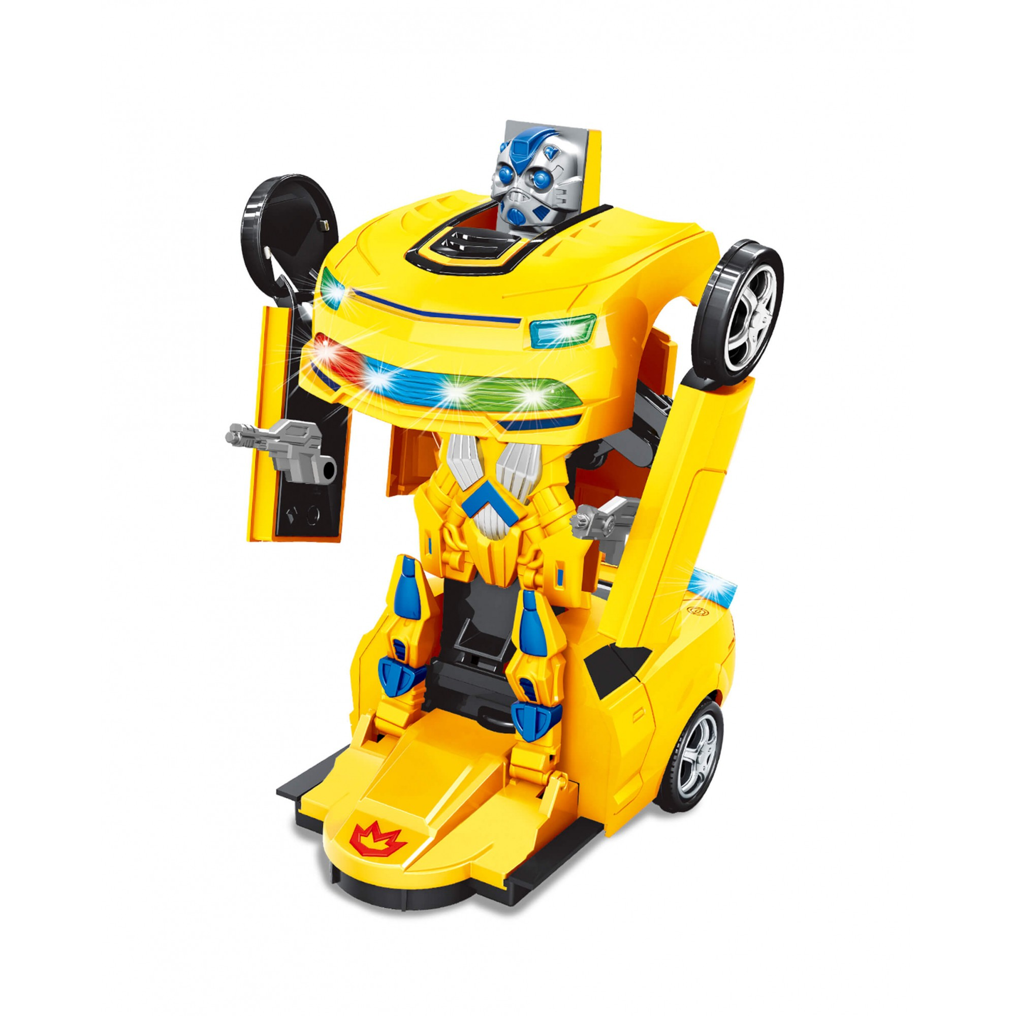 Carro Robô Robot Warriors ZP00674 Zoop Toys