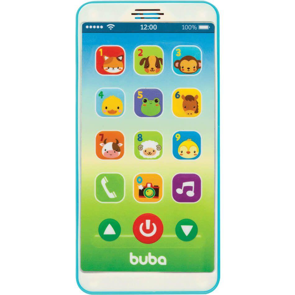 Celular Infantil Baby Phone Azul 6841 Buba