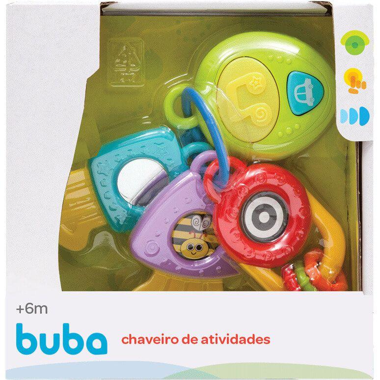 Chaveiro De Atividades Com Luz E Som 10648 Buba