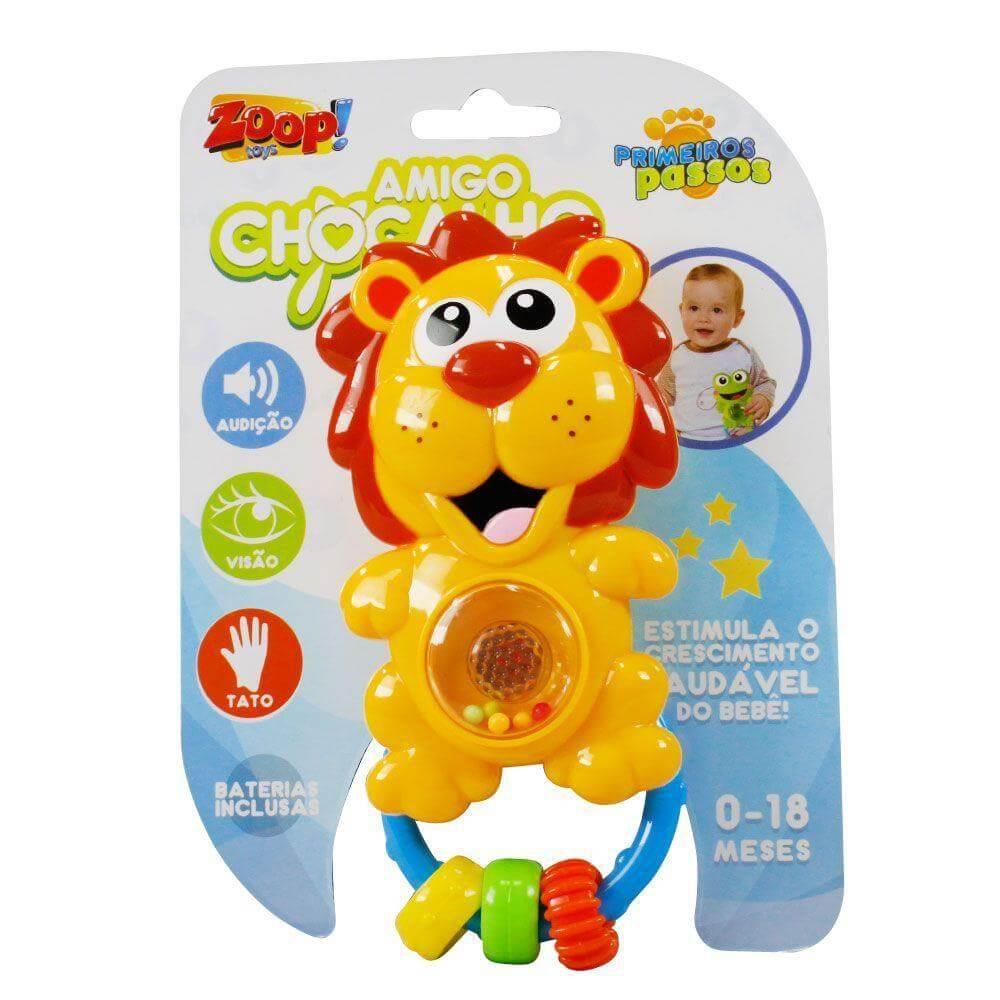 Chocalho Amigo Leãozinho Zoop Toys