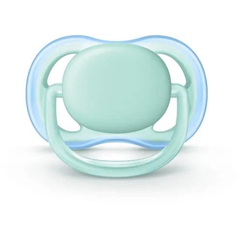 Chupeta Ultra Air Azul Tamanho 1 De 0 A 6 Meses Avent