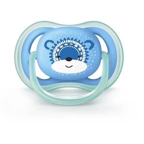 Chupeta Ultra Air Tamanho 2 De 6 A 18 Meses Azul Avent