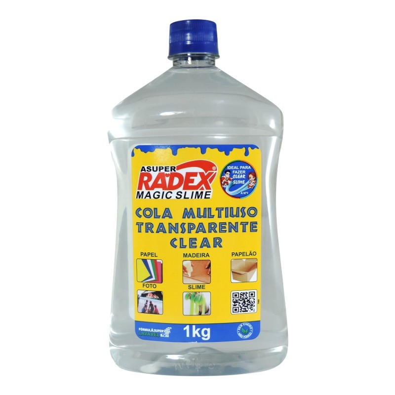 Cola Multiuso Transparente Clear 1 Kg RadexRadex