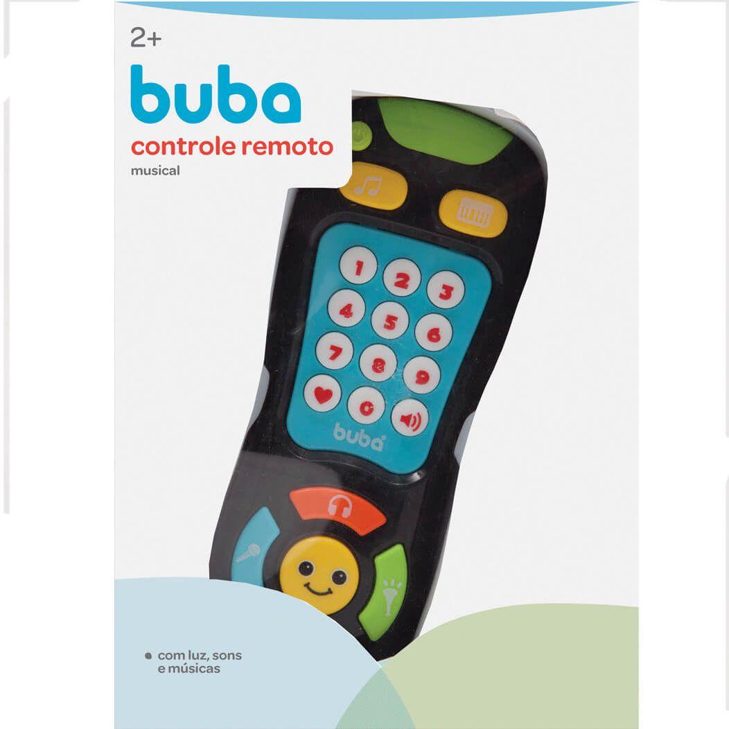 Controle Remoto Infantil Musical 9687 Buba