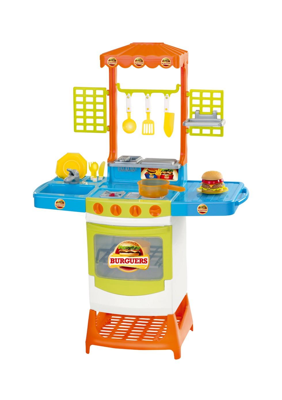 Cozinha Master Burguers 8023 Magic Toys
