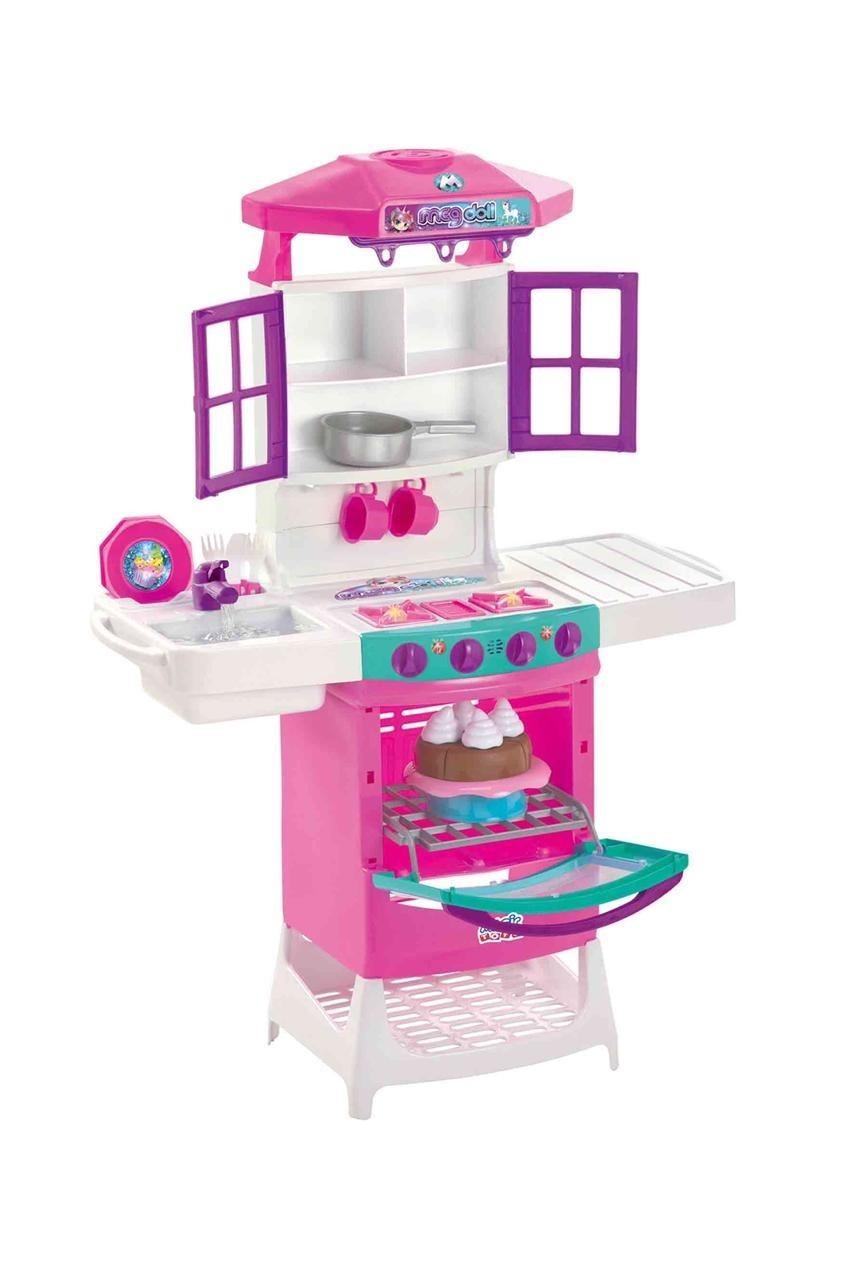 Cozinha Meg Doll Com Som E Luz 8012 Magic Toys